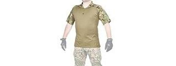 Lancer Tactical Combat Uniform T-Shirt, Jungle Digital