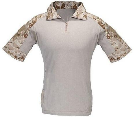 Lancer Tactical Summer Edition Combat Uniform BDU T-Shirt, Desert Digital