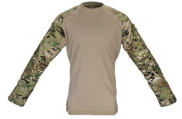 Lancer Tactical Combat Shirt, Modern Camo