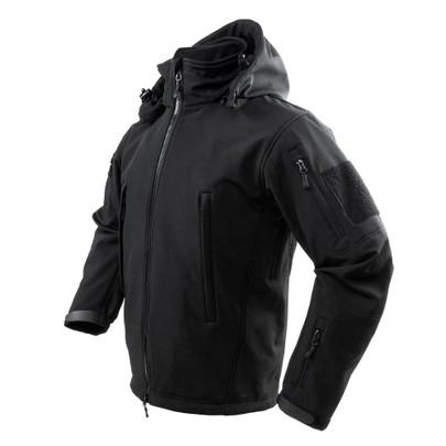 NC Star Delta Zulu Polyester Micro Fleece Jacket, Black
