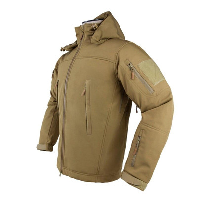 NC Star Delta Zulu Polyester Micro Fleece Jacket, Tan