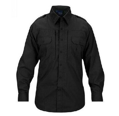 Propper Poly/Cotton Ripstop MIL-SPEC Four Pocket BDU Coat, Black