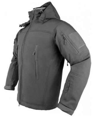 NC Star Delta Zulu Polyester Micro Fleece Jacket, Urban Gray