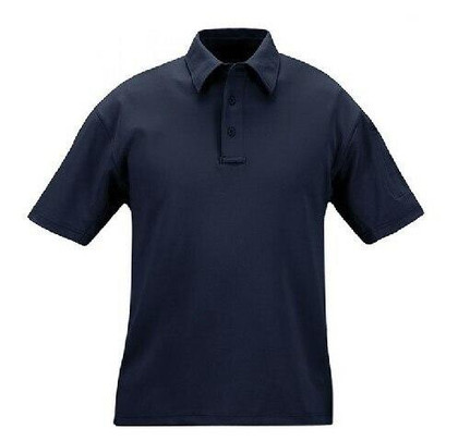 Propper Mens ICE Performance Short Sleeve Polo Shirt, LAPD Navy