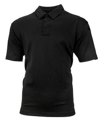 Propper Mens ICE Performance Short Sleeve Polo Shirt, Black