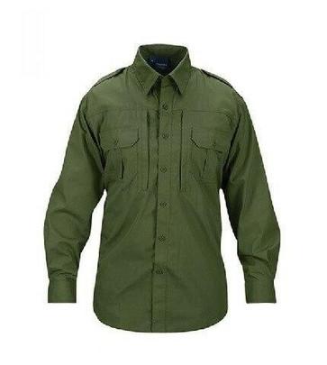 Propper Ripstop Reinforced Tactical Long Sleeve Shirt, OD Green