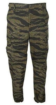 Propper Uniform Ripstop Reinforced MIL-SPEC BDU Pants, Tiger Stripe
