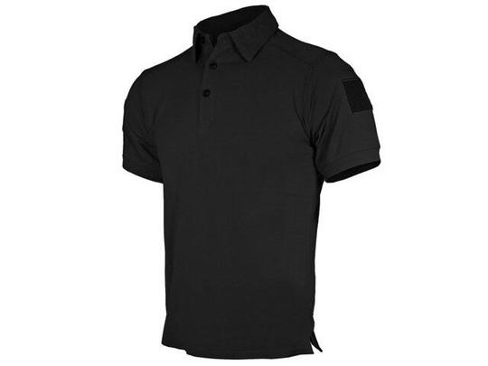 Cannae Short Sleeve Operator Tactical Polo Shirt, Black