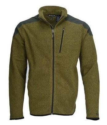5.11 Tactical Polyester Full Zip TDU Fleece Sweater, Field Green