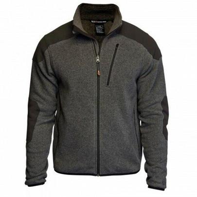 5.11 Tactical Polyester Full Zip TDU Fleece Sweater, Gun Powder