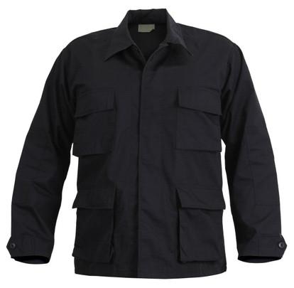 Rothco Ultra Force SWAT Cloth BDU Shirt, Black