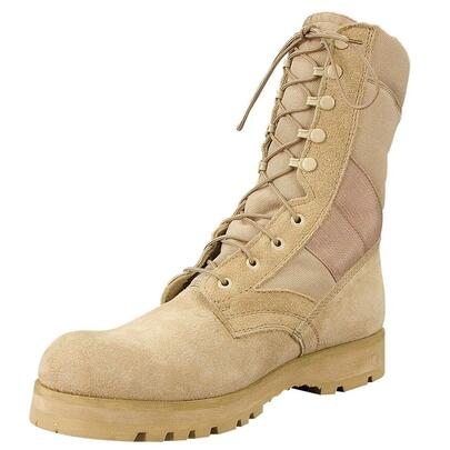 Rothco GI Type 5257 Sierra Sole Tactical Boots, Tan