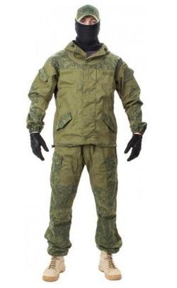 Jagun Tactical Airsoft Russian Gorka Suit BDU Set, Digital Flora