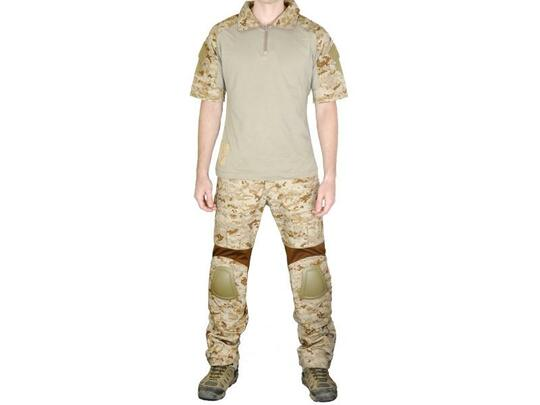 Lancer Tactical Navy SEAL Combat Summer Set, Desert Digital