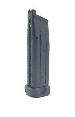 JAG Arms GMX Series 31rd Green Gas Magazine, Black