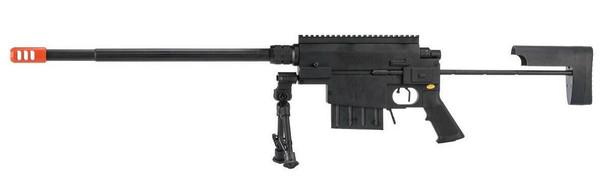 Nemesis Arms VANQUISH Bolt Action Airsoft Sniper Rifle w/ Hard Case, Black