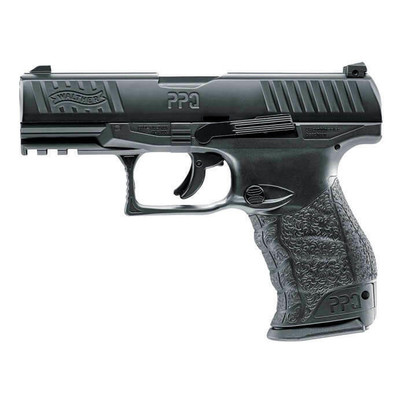 Umarex T4E Walther PPQ .43 Cal Co2 Blowback Paintball Pistol, Black
