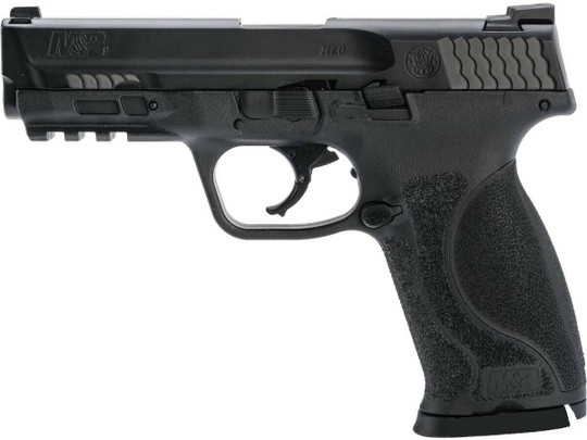 Umarex T4E Smith and Wesson MandP9 M2.0 Co2 Blowback Paintball Marker Pistol, Black