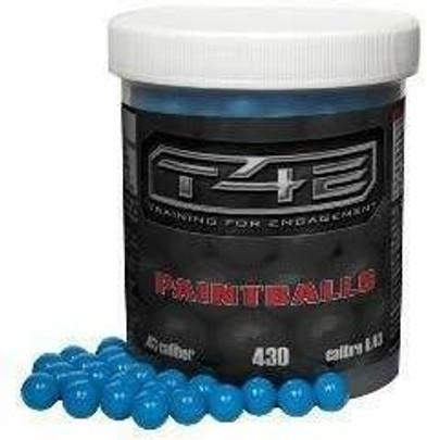 Umarex T4E .43 Cal Blue Paintballs, 430 Rounds