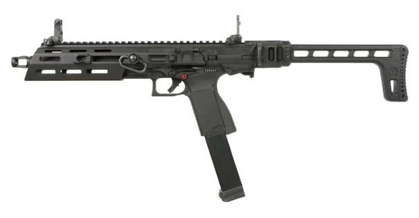 GandG SMC 9 Gas SMG Airsoft Carbine, Black