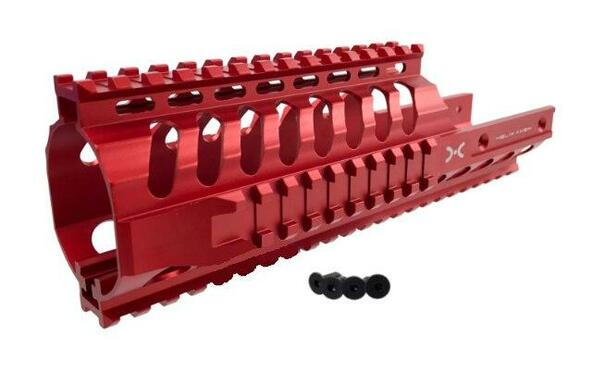 Helix Axem 9 KV Vector Rail System, Red