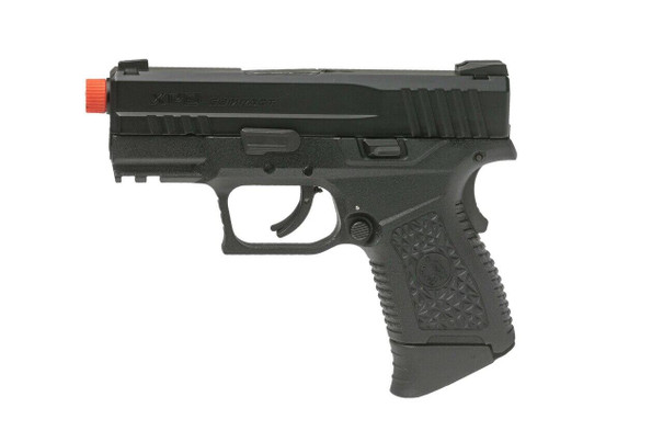 ASG XPD Compact Gas Blowback Airsoft Pistol, Black