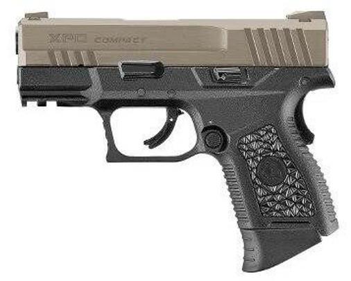ASG XPD Compact Gas Blowback Airsoft Pistol, Black / Tan