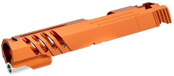 Airsoft Masterpiece Hi-Capa 5.1 / 1911 Custom Saber Slide, Orange
