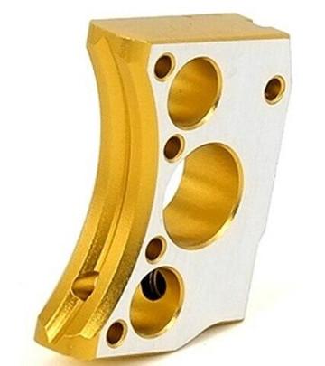 Airsoft Masterpiece Hi-Capa Type 12 Aluminum Trigger, Gold Two-Tone