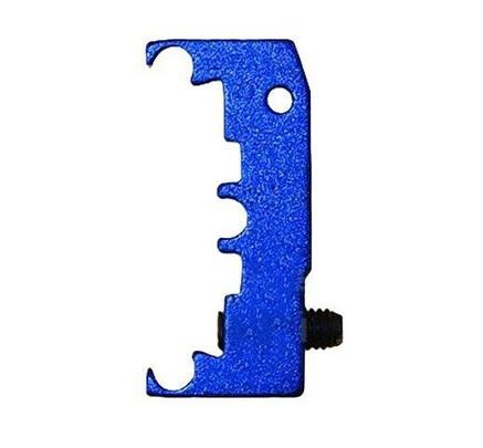 Airsoft Masterpiece Hi-Capa Aluminum Puzzle Trigger Base, Blue