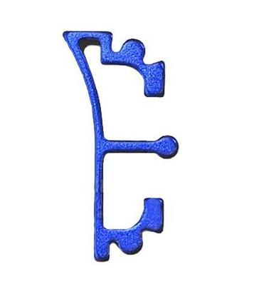 Airsoft Masterpiece Hi-Capa Aluminum Puzzle Front Enos Trigger, Blue