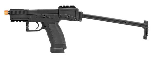 ASG BandT Universal Service Weapon Gas Blowback Airsoft Pistol, Black