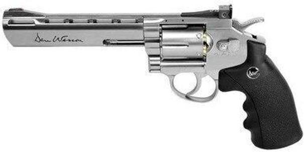 ASG Licensed Dan Wesson 6 .177 BB Gun, Silver