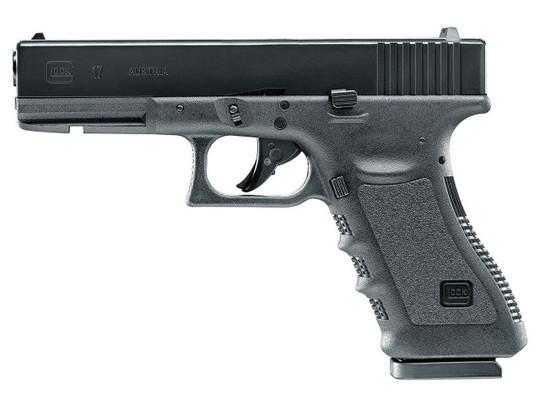UMAREX Glock 17 Gen 3 .177 Co2 Blowback Air Pistol, Black