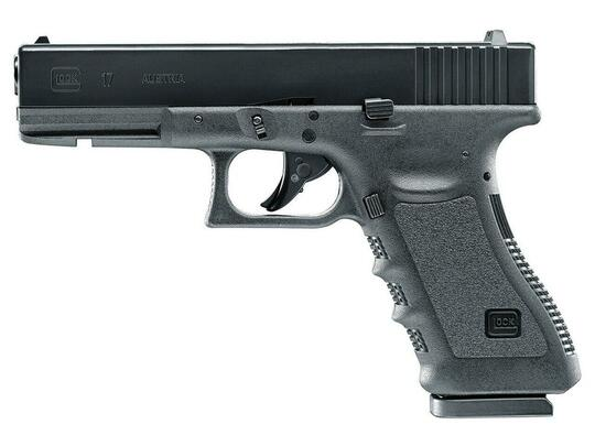UMAREX Glock 17 Gen 4 .177 Co2 Blowback Air Pistol, Black