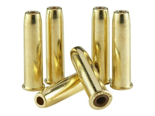 Colt Peacemaker Single Action Army .177 6-Pack Revolver Shells, Gold