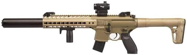 SIG AIR MCX .177 Co2 Air Rifle w/ Micro Red Dot Sight, Tan/Black