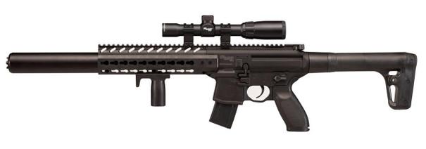 SIG AIR MCX .177 Co2 Air Rifle w/1-4x24 Precision Scope, Black