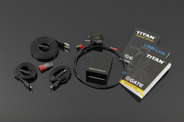 Gate TITAN V2 Advanced MOSFET Set Front Wired