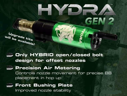 Wolverine HYDRA Gen 2 PDR Cylinder w/ Premium Edition Electronics and Bluetooth FCU HPA Kit