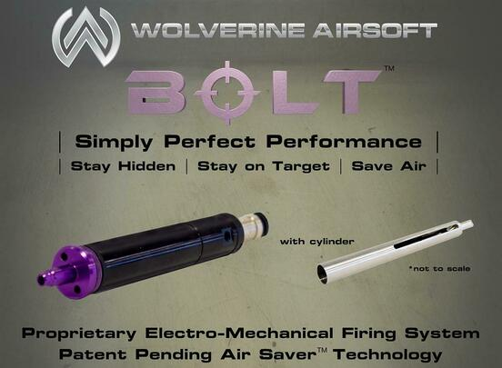 Wolverine BOLT HPA Conversion Kit w/ Tokyo Marui VSR-10 Cylinder Head