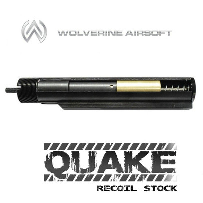 Wolverine QUAKE Gen 2 Spartan Recoil Stock QWK Ready w/ Control Board