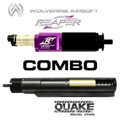 Wolverine QUAKE Gen 2 Spartan Recoil Stock QWK Ready w/ Control Board and REAPER Gen 2 HPA Engine