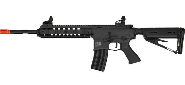 Valken ASL Series High Velocity MOD-L AEG Airsoft Rifle, Black