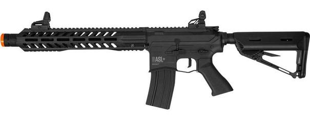 Valken ASL Series High Velocity WHISKEY AEG Airsoft Rifle, Black