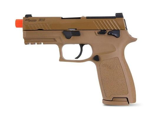 SIG SAUER M18 Proforce Series Gas Blowback Airsoft Pistol, Tan