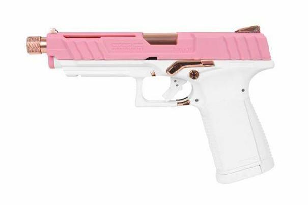 GandG GTP9 Gas Blow Back Airsoft Pistol, Rose Gold