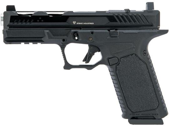 EMG Strike Industries ARK Gas Blowback Airsoft Pistol w/ STRIKE Frame, Black