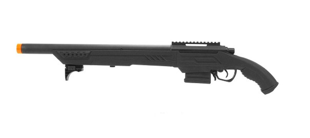 ASG Action Army T11S Airsoft Sniper Rifle, Black