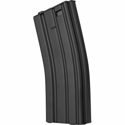 Valken 300rd Full Metal M16 Hi-Cap Magazine, Black